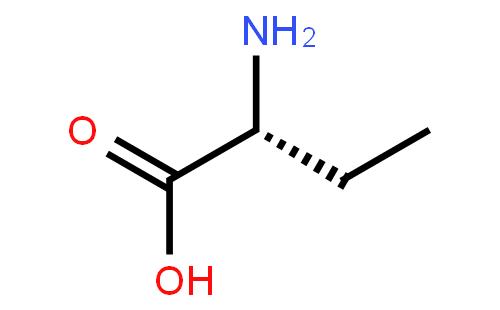 L-2-氨基丁酸结构式