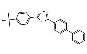 2-(4'-叔丁苯基)-5-(4'-联苯基)-1,3,4-恶二唑