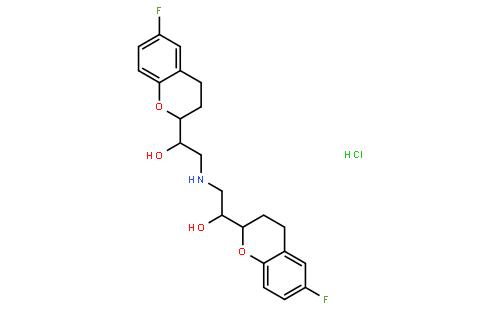 盐酸奈必洛尔结构式