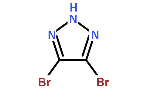 4,5-二溴-1H-1,2,3-三唑结构式