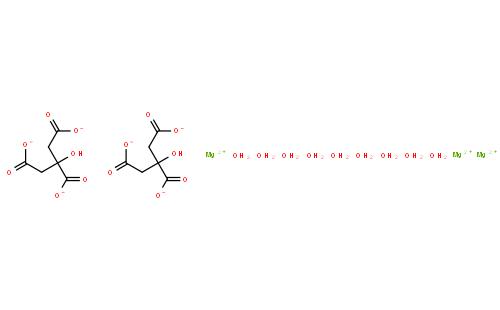 柠檬酸镁 九水合物