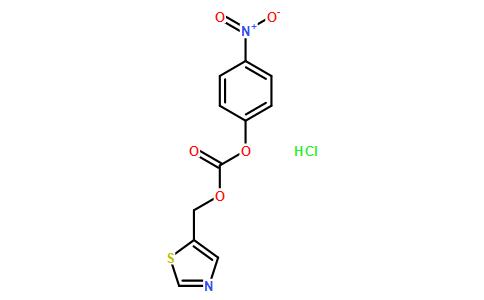 ((5-噻唑基)甲基)-(4-硝基苯基)碳酸酯盐酸盐