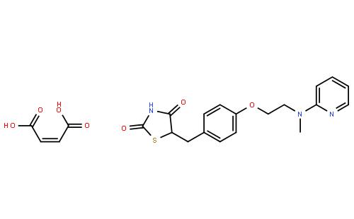 马来酸罗格列酮