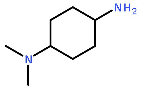 反式-N,N-二甲基环己烷-1,4-二胺结构式