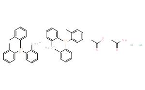 反式二-(M)-双[2-(二邻甲苯基膦)苄基]乙酸二钯(II)
