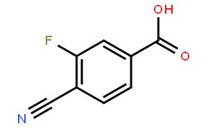 3-氟-4-氰基苯甲酸