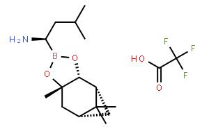 (aR,3aS,4S,6S,7aR)-六氢-3a,8,8-三甲基-alpha-(2-甲基丙基)-4,6-甲桥-1,3,2-苯并二氧硼烷-2-甲胺 2,2,2-三氟乙酸盐