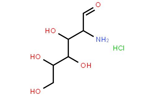 2-氨基-2-脱氧-D-半乳糖盐酸盐结构式