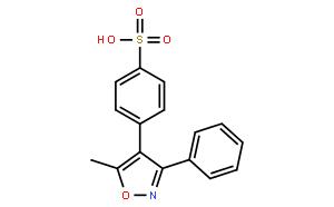 4-(5-Methyl-3-phenylisoxazol-4-yl)benzenesulfonic acid