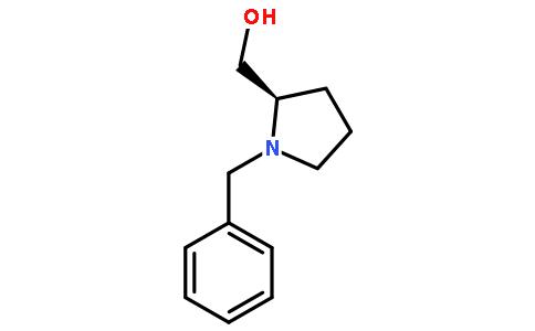 N-苄基-D-脯氨醇结构式