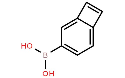 苯并环丁烯-4-硼酸结构式