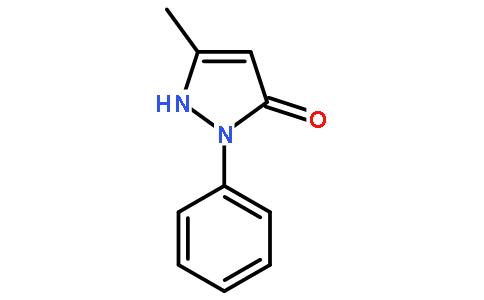 5-甲基-2-苯基-1,2-二氢吡唑-3-酮