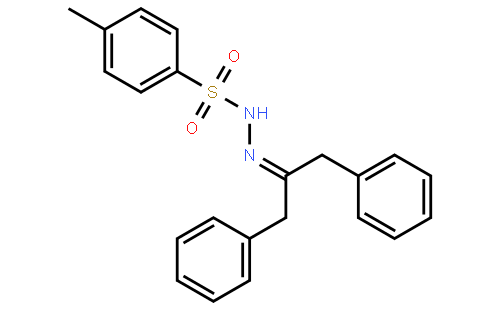磺酰腙 英文名称:1,3-diphenylpropan-2-one tosylhydrazone 分子式