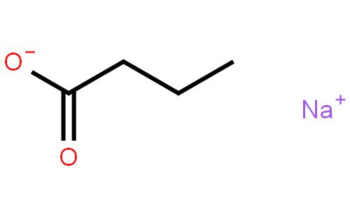 丁酸钠结构式