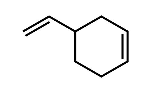 4-乙烯环己烯结构式