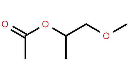 丙二醇甲醚醋酸酯结构式