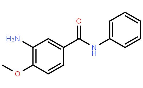 4-甲氧基-3-氨基苯酰替苯胺