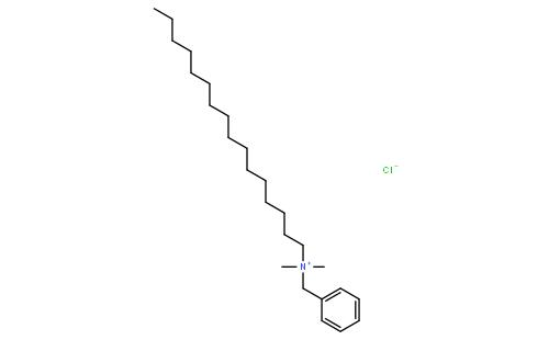 十六烷基二甲基苄基氯化铵
