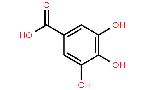 没食子酸结构式