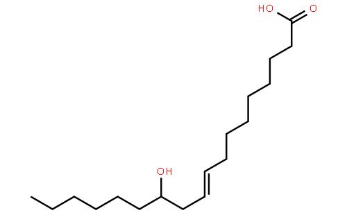蓖麻油酸结构式