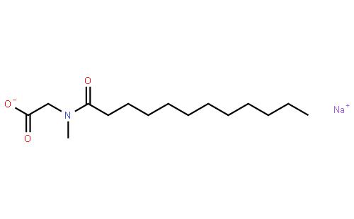 月桂酰肌氨酸钠结构式