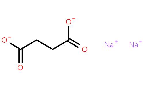 琥珀酸钠结构式