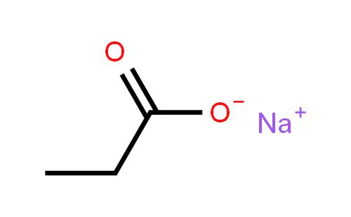 丙酸钠结构式