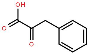 苯丙酮酸(CAS:156-06-9)结构式图片