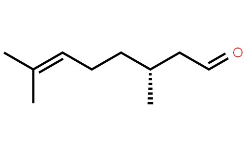 香茅醛结构式