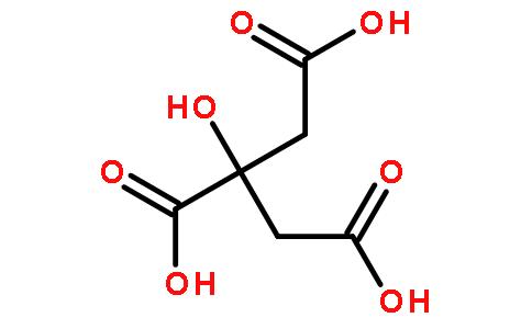 柠檬酸镁结构式图片