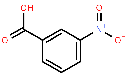 间硝基苯甲酸结构式