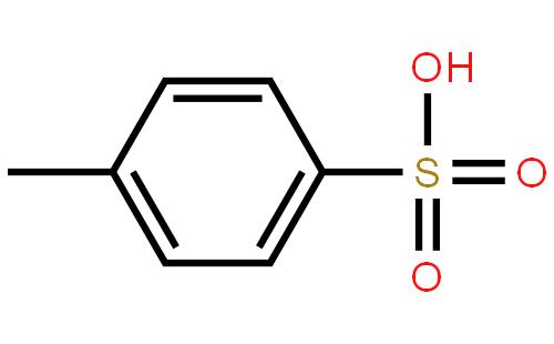 对甲苯磺酸结构式