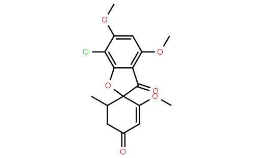 灰黄霉素结构式