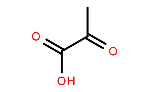 丙酮酸结构式