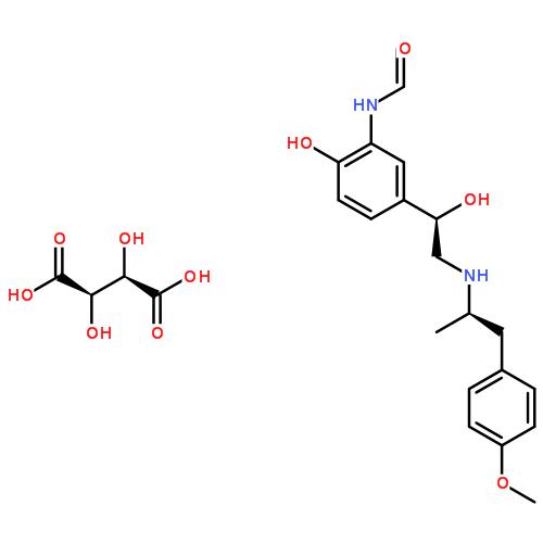 酒石酸福莫特罗结构式