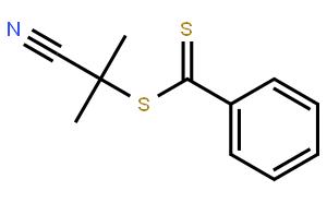 Benzenecarbodithioicacid, 1-cyano-1-methylethyl ester