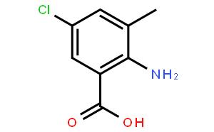 2-氨基-5-氯-3-甲基苯甲酸