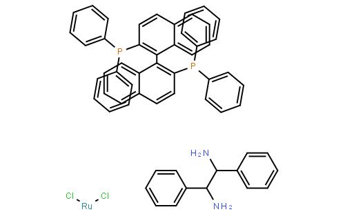 二氯[(<i>R</i>)-(+)-2,2'-二(二苯基膦)-1,1'-联萘基][(1<i>R</i>,2<i>R</i>)-(+)-1,2-二苯基乙二胺)钌(II)