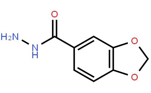 3,4-亚甲基二氧苄肼结构式图片