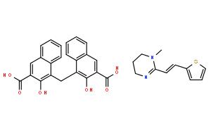 雙羥萘酸噻嘧啶