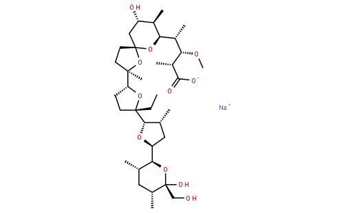 莫能菌酸鈉