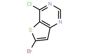 Thieno[3,2-d]pyrimidine,6-bromo-4-chloro-