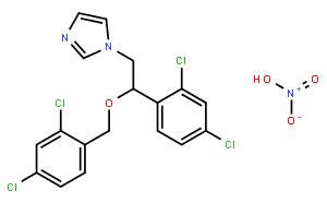 硝酸咪康唑(CAS:22832-87-7)结构式图片