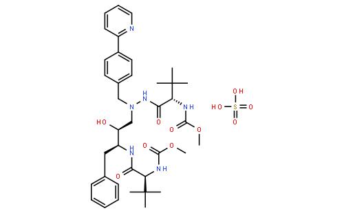 阿扎那韦硫酸盐