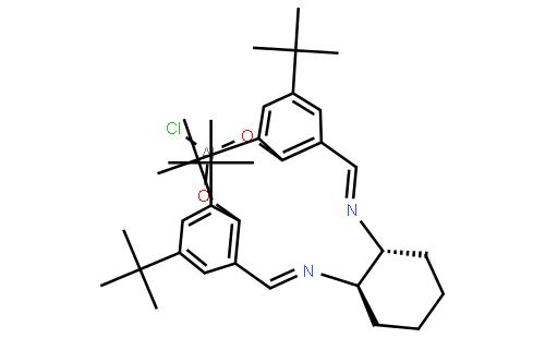 (R,R)-N,N′-双(3,5-二-叔丁基亚水杨基)-1,2-环己二胺氯化铝