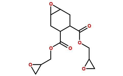 4,5-环氧四氢邻苯二甲酸二缩水甘油酯结构式