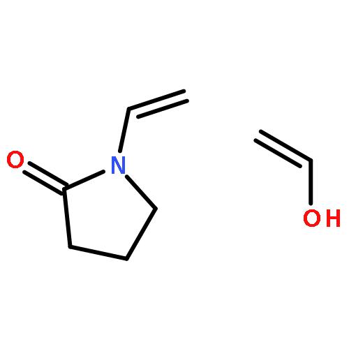 醋酸乙烯酯与乙烯醇的聚合物结构式