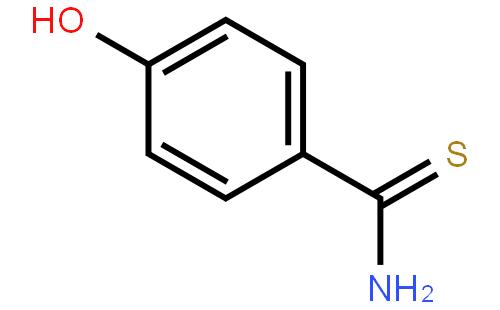 非布索坦中间体 4-羟基硫代苯甲酰胺结构式