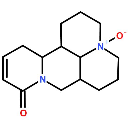 氧化槐果碱结构式