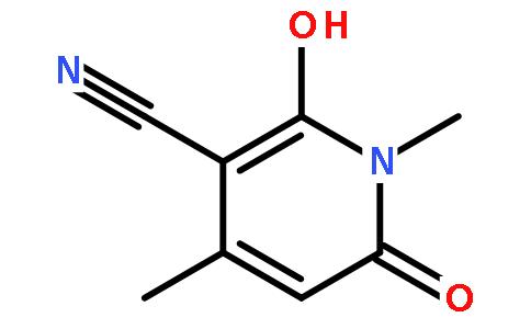 N-甲基-3-氰基-6-羟基-4-甲基-2-吡啶酮